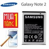 Mua Pin Cho Samsung Galaxy Note 2 Xam Tặng Miếng Dan Cường Lực Note 2