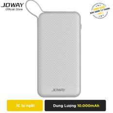 Bán Pin Dự Phong Joway Jp129 10000Mah Tich Hợp Sẵn Cap Micro Usb Android Hang Phan Phối Chinh Thức Rẻ Nhất