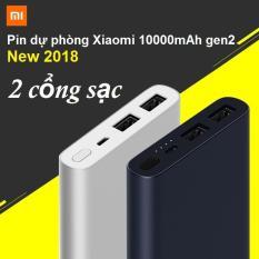 Giá Bán Pin Dự Phong Xiaomi 10000Mah Gen2 New 2018 Bạc Mới