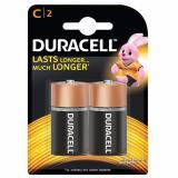 Pin Duracell Alkaline C Battery ( Bộ 2 Viên - Pin C)