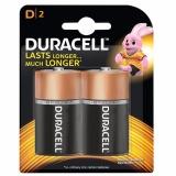 Pin Duracell Alkaline D Battery ( Bộ 2 Viên - Pin D)