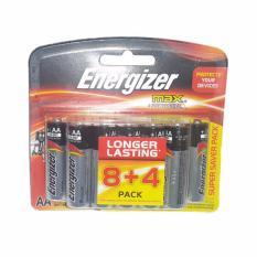 Giá Bán Pin Energizer Alkaline Max Aa E91 8 Tặng 4 Nguyên