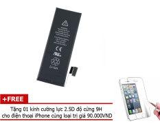 Bán Pin Foxcom Cho Iphone 5 Chuẩn 1440Ma Tặng 01 Miếng Dan Cường Lực 2 5D Độ Cứng 9H Foxcom Nguyên