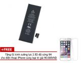 Ôn Tập Pin Foxcom Cho Iphone 6 Plus Chuẩn 2915Ma Tặng Kem Miếng Dan Cường Lực 2 5D Độ Cứng 9H Foxcom