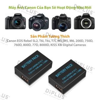 Pin máy ảnh Canon LP-E17 dành cho máy ảnh Canon LPE17 EOS M3 M5 M6 Rebel SL2 T6i T6s T7i 200D 77D 760D 750D 8000D 800D KISS X8i Digital SLR Camera thumbnail