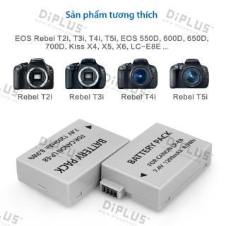 Pin máy ảnh Canon LP-E8 pin máy ảnh canon 550D 600D 650D 700D thumbnail