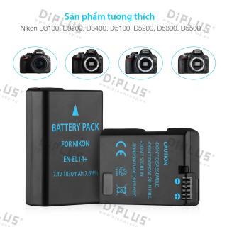Pin máy ảnh nikon EN-EL14 pin máy ảnh nikon D3100, D3200, D3300, D3500, D5100, D5200 ,D5300, D5500 thumbnail