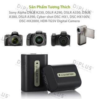 Pin máy ảnh Sony NP-FH50 pin dành cho máy ảnh Sony Alpha DSLR A230 A290 A330 A380 A390 Cyber-shot Sony DSC-HX1 DSC-HX100V DSC-HX200V HDR-TG5V A330 DCR-HC20 HC21 HC26 HC28 HC30 HC32 HC36 HC38 HC40 HC42 HC46 HC48 HC65 HC85 HC96 Camera Handycam thumbnail