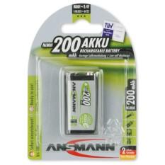 Pin Sạc 9V 1 Vien Ansmann E Block 200Mah Hà Nội Chiết Khấu 50