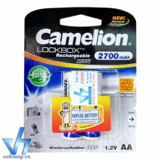 Pin sạc Camelion Rechargeable 2700mAh AA (Tem hợp lực)