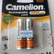 Pin sạc AA Camelion 2700mAh vàng có tem chống hàng giả