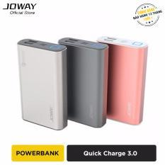 Ôn Tập Pin Sạc Dự Phong 10500Mah Joway Jp90 Quick Charge 3 Hang Phan Phối Chinh Thức