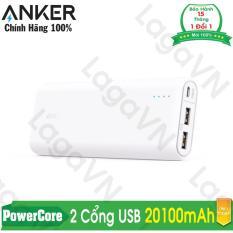 Chiết Khấu Sản Phẩm Pin Sạc Dự Phong Anker Powercore 20100Mah