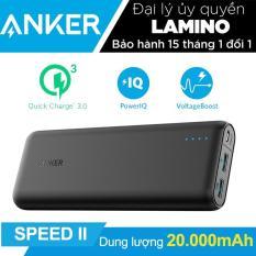 Pin Sạc Dự Phong Anker Powercore Speed 20000Mah Quick Charge 3 Va Poweriq Hang Phan Phối Chinh Thức Anker Chiết Khấu 50