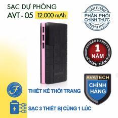 Bán Pin Sạc Dự Phong Avatech Avt 05 12000Mah Trong Hồ Chí Minh