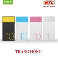 Giá Bán Pin Sạc Dự Phong Cao Cấp Golf Hive10 10000Mah Loi Polymer Hang Phan Phối Chinh Thức Golf Tốt Nhất