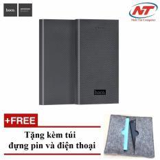 Giá Bán Pin Sạc Dự Phong Hoco B12A Carbon Fiber 13000Mah Xam Tặng 01 Bao Đựng Pin Va Điện Thoại Hoco Mới