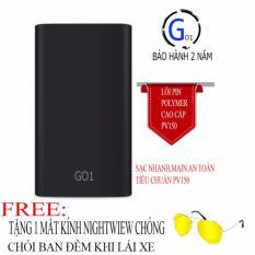 Bán Mua Pin Sạc Dự Phong Loi Polymer G01 10000Mah Hỗ Trợ Sạc Nhanh Tặng Mắt Kinh Nightwiew Chong Choi Ban Đem Trong Hồ Chí Minh