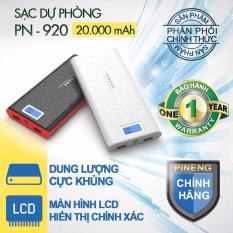 Bán Mua Trực Tuyến Pin Sạc Dự Phong Pineng Pn 920 20000Mah Phan Phối Chinh Hang