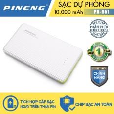 Bán Pin Sạc Dự Phong Pineng Pn 951 10000Mah Trắng Pineng Trực Tuyến