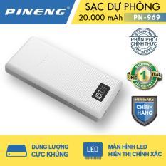 Ôn Tập Pin Sạc Dự Phong Pineng Pn 969 20000Mah Trắng Hồ Chí Minh