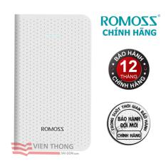 Cửa Hàng Pin Sạc Dự Phong Romoss Sense Mini 5000 Mah Trắng Hang Phan Phối Chinh Thức Romoss Hồ Chí Minh
