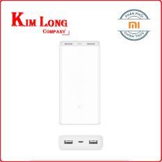 Giá Bán Pin Sạc Dự Phong Xiaomi 20000 Mah Gen 2C Qc 3 Hai Chiều Hang Phan Phối Chinh Thức Trực Tuyến