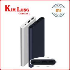 Pin sạc dự phòng Xiaomi 10000 mAh gen 2 2018 Đen- Digiworld phân phối chính thức