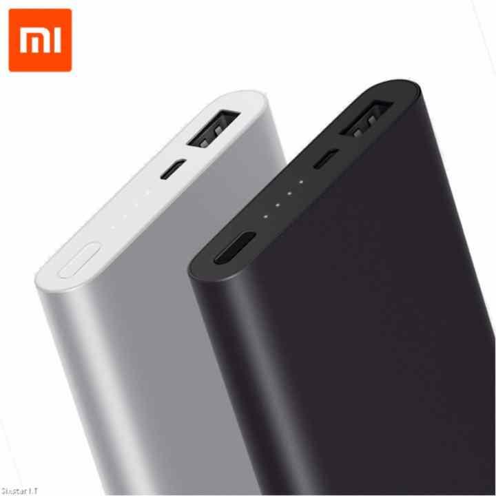 Pin sạc dự phòng Xiaomi Power Bank Gen 2 10000mAh (Đen) - Hãng phânphối chính thức