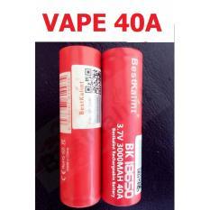 Pin Sạc Li-ion 18650 cho Vape dòng xả cao 40A ( 1 Viên)