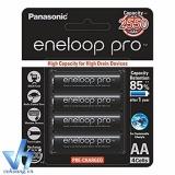 Mã Khuyến Mại Bộ 4 Pin Sạc Aa Panasonic Eneloop Pro 2550Mah Japan Rẻ