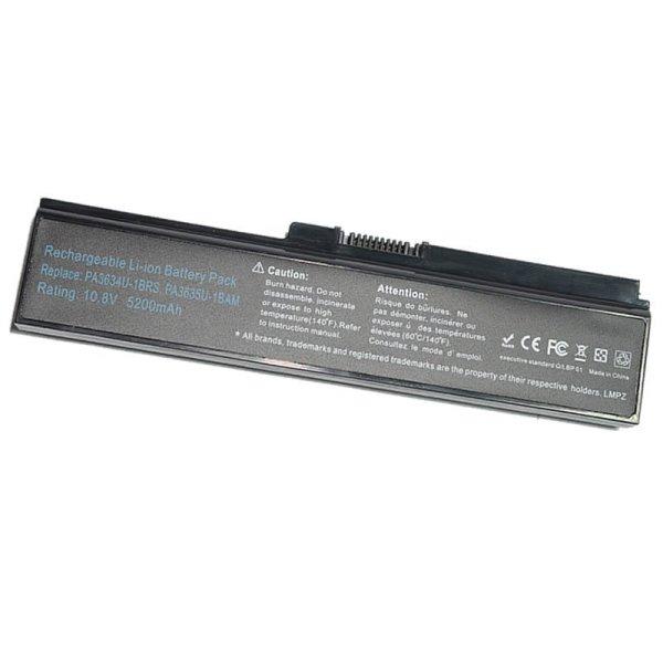 Bảng giá Pin dành cho Toshiba Satellite M300 L300 M800 P/N:PA3634U-1BRS 6 cell (Đen) - Hàng nhập khẩu Phong Vũ
