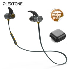 Ôn Tập Plextone Bx343 Sport Ipx5 Waterproof Dual Battery Magnetic Wireless Bluetooth Earphone With Mic Intl Not Specified Trong Trung Quốc