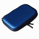 Mã Khuyến Mại Portable 2 5 Inch Ide Sata Hdd Hard Disk Drive Storage Box Zipper Carrying Case Abrasion Resistance Shock Proof Protection Pu Bag Blue Intl