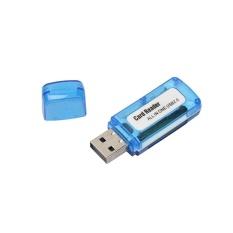 Di động 4 trong 1 Bộ Nhớ Đầu Đọc Thẻ Đa Năng USB 2.0 cho SD/TF T-Flash/M2 Thẻ- quốc tế