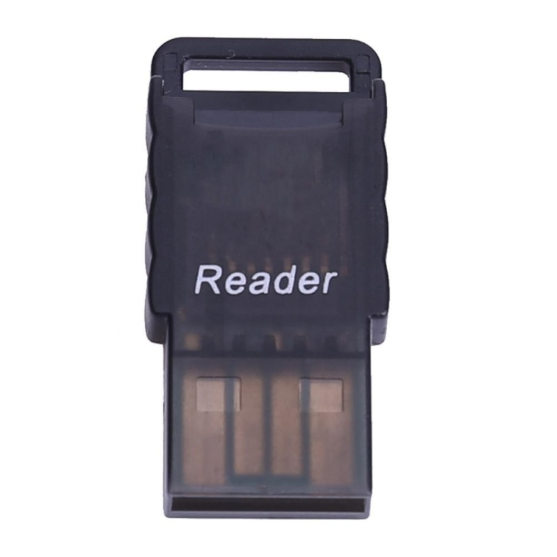 Bảng giá Di động Micro SD sang USB 2.0 TF Thẻ Nhớ Adapter (Đen)-quốc tế Phong Vũ