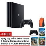 Bán Mua Trực Tuyến Ps4 Pro Combo Tặng 3 Games Horizon Zero Dawn Crash Bandicoot Titan Fall 2 Tay Cầm Extra Balo