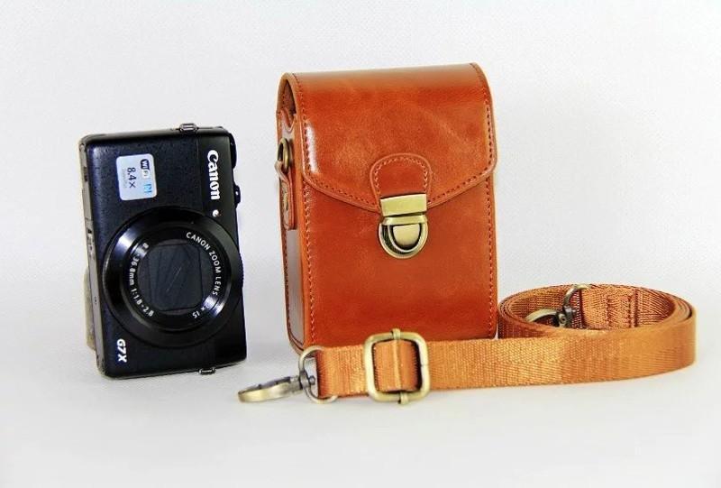 Check giá Bao Da PU Dành Cho Canon G9X G7X G7X Mark II SX710 SX700 SX720 S95 S90 SX260 SX240 SX275 Cứng -intl kèm khuyến mãi - Giá chỉ 182.427đ