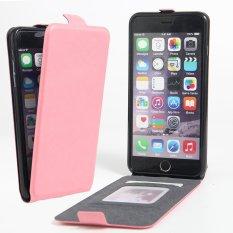 Da Pu Flip Danh Cho Iphone 6 Plus 6 S Plus Hồng Quốc Tế Trung Quốc Chiết Khấu