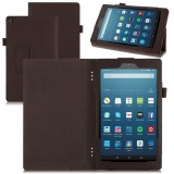 Bán Pu Leather Skin Smart Cover For Amazon Kindle Fire Hd 8 2017 4Th Gen Stand Case Brown Intl Oem Trong Hong Kong Sar China