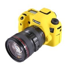 Hình ảnh PULUZ Silicone Mềm Mại Bảo Vệ dành cho Canon EOS 6D (Vàng)-quốc tế
