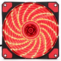 Quạt case 12cm matee 15 led đỏ