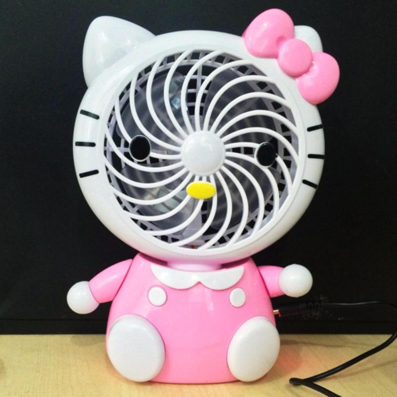 Bảng giá Quạt sạc USB mini để bàn hình mèo Phong Vũ