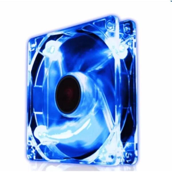 Bảng giá Quạt tản nhiệt Case thùng máy 80mm ( 8cm ) LED (màu xanh), tặng kèm ốc Phong Vũ