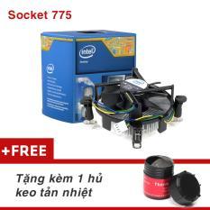 Quạt tản nhiệt CPU Box Intel SK 775 chuyên Game hàng Zin loại tốt + Hũ keo tản nhiệt