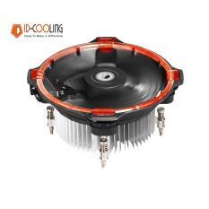 Quạt tản nhiệt cpu ID-Cooling DK-03 Halo (Led Đỏ) - Led Ring, Sức gió lớn, Hiệu năng mạnh mẽ