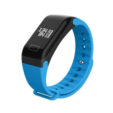 R3 Waterproof Smart Band Heart Rate Blood Pressure Monitor Fitness Tracker(Blue) - intl