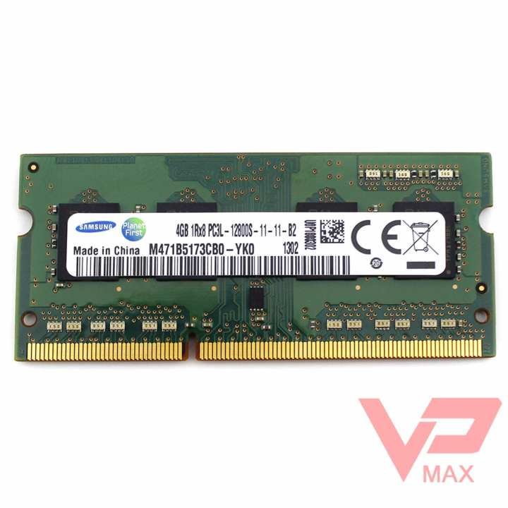 Ram laptop 4GB DDR3 Samsung bus 1600 (PC3L-12800)