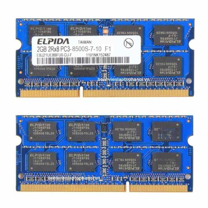Ram Laptop DDR3 2GB PC3 8500S (Bus 1066) (2GHz)