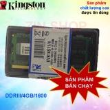 Bán Ram May Tinh Laptop Ddr3 Dung Lượng 4Gb Buss 1600Mhz Kington Người Bán Sỉ
